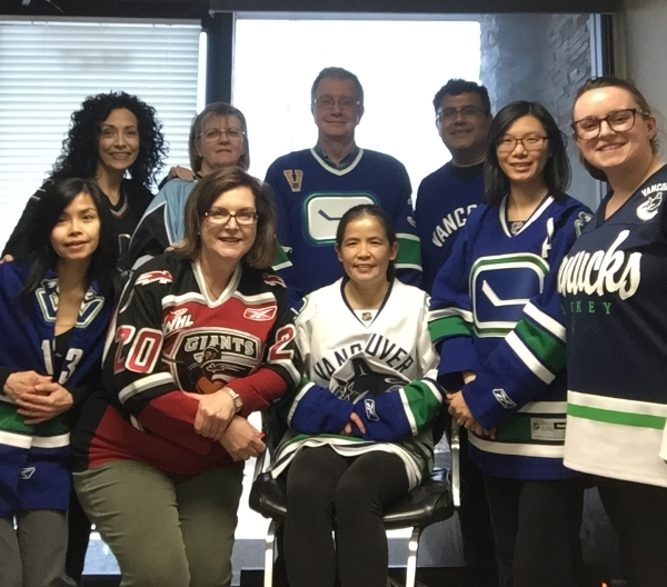 Jersey Day at Assertive - April 12, 2018 #JerseysForHumboldt